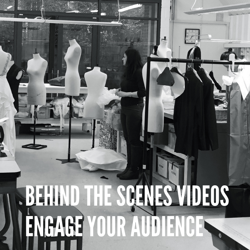 Behind The Scenes Videos Will Wow Your Audience.