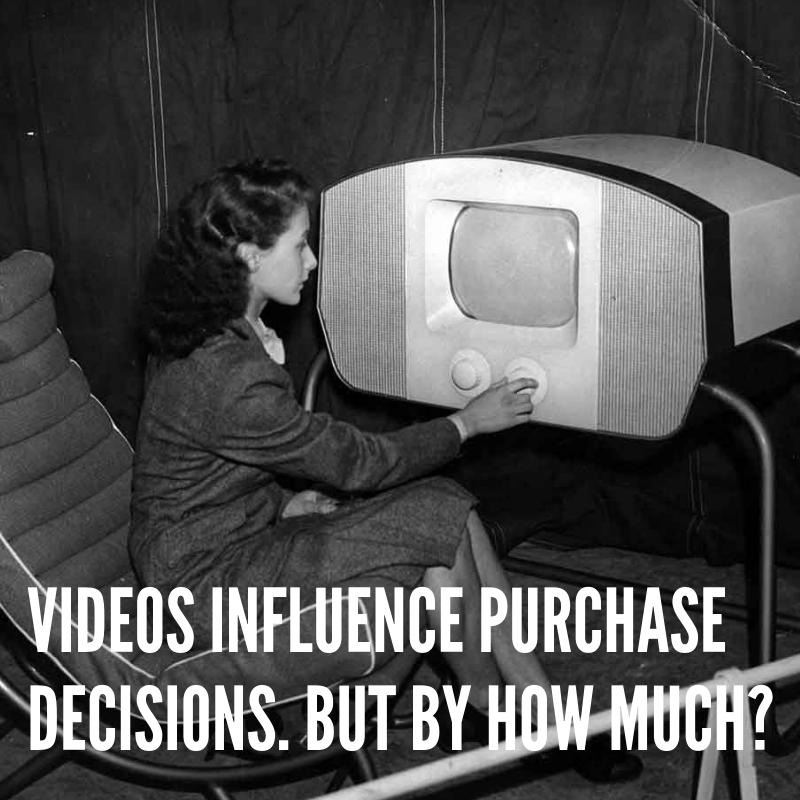 Videos impact consumer behaviour with positive results