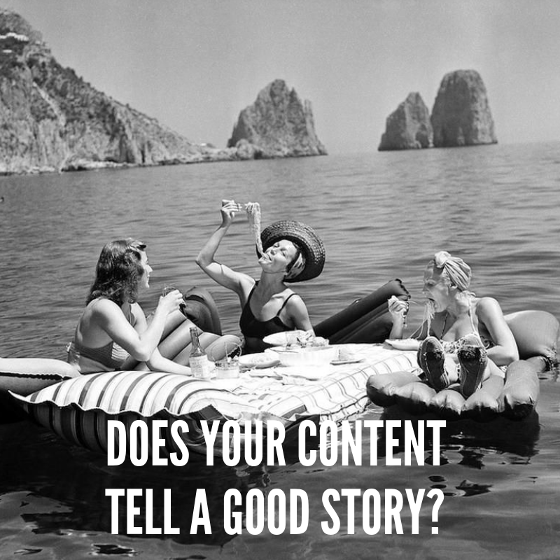 Good storytelling drives more customer conversions.